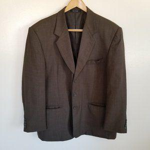 Eddie Domani Brown Suit jacket blazer
